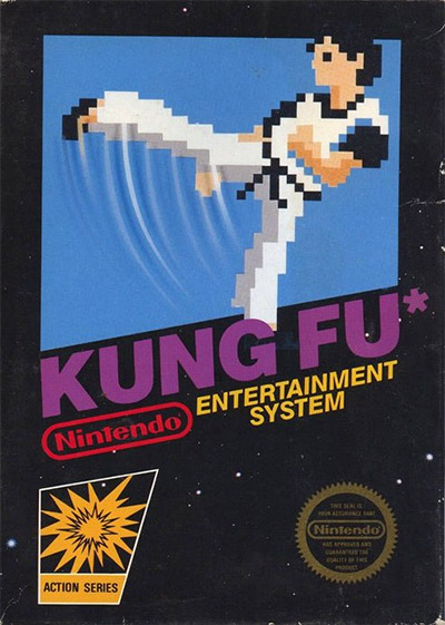 Kung Fu NES Cover