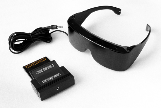 Master System SegaScope 3-D Glasses
