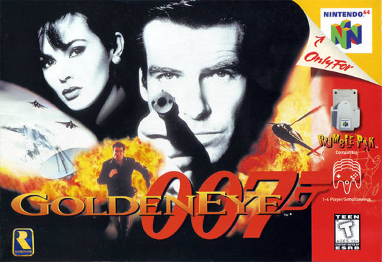 GoldenEye 007 Nintendo 64 Box