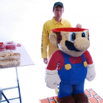 Super Huge Lego Mario