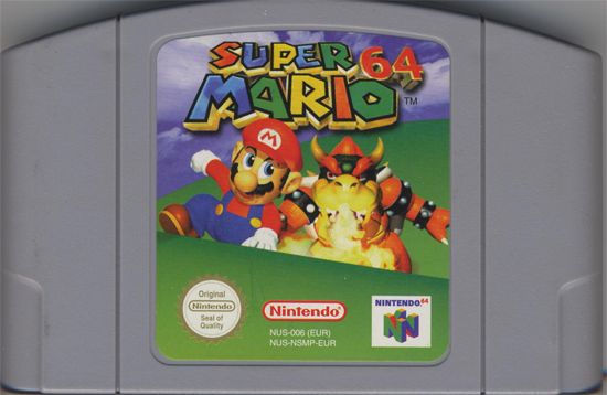 Nintendo 64 Cartridge